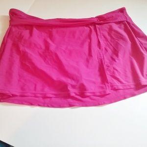 Faded Glory swim skirt
